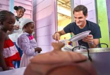 Roger Federer to feed 64,000 vulnerable young children in Africa