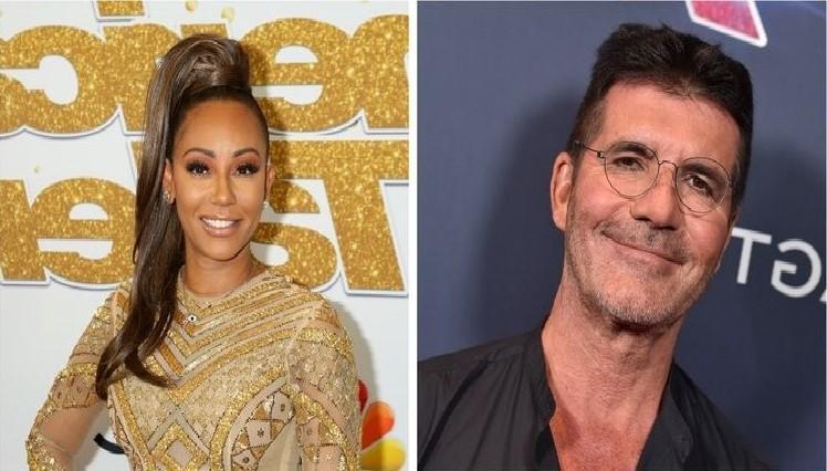 "Simon Cowell Debuts Rumors of Mel B Affair: ""Ridiculous Story"""