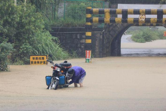 Floods kill tens and displace many residents in China