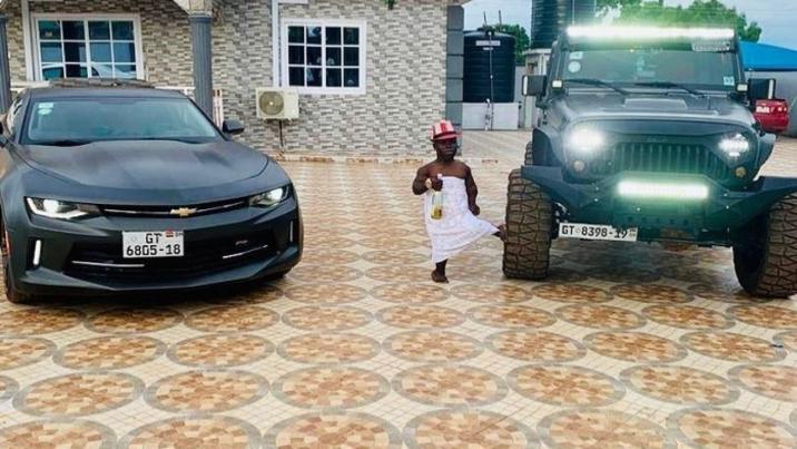 "Shatta Bandle ""richest dwarf in Africa"" breaks silence"