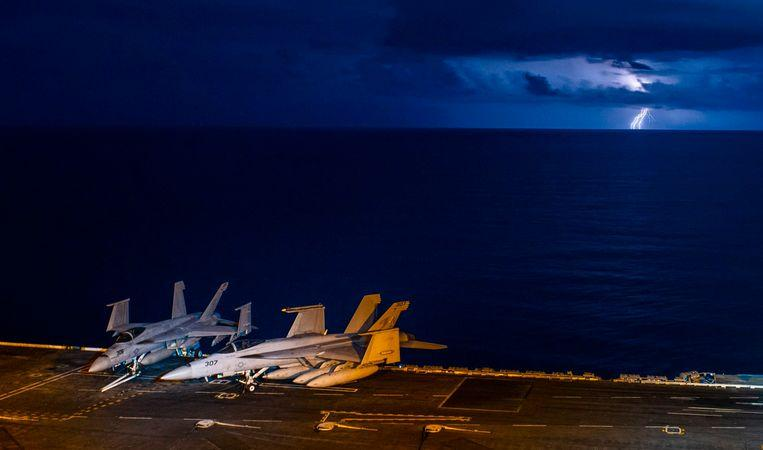 Tension between US and China due to South China Sea maneuvers
