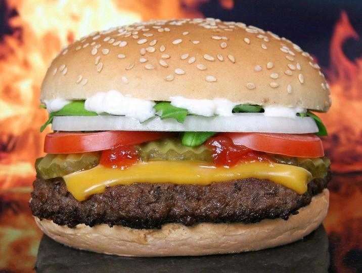 The secret of eating fast food without gaining too much weight