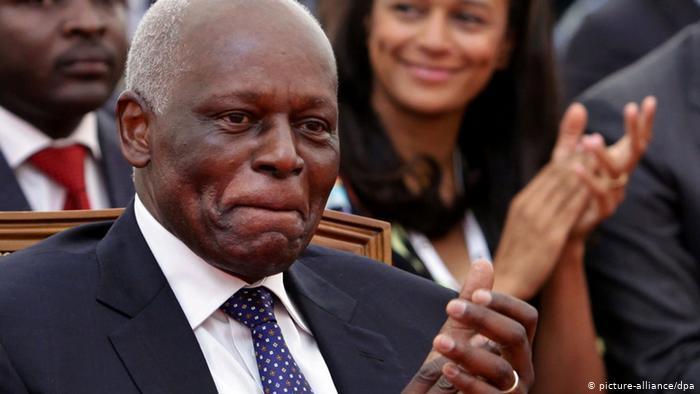 Jose Eduardo dos Santos of Angola