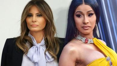 Cardi B sparks riot with Melania Trump and throws first blow online