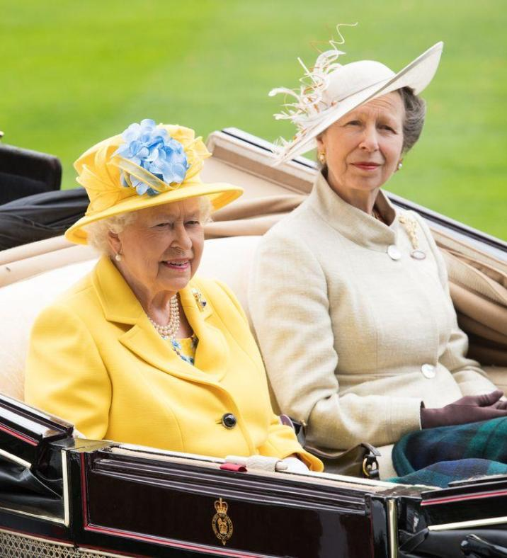 Queen Elizabeth puts daughter Princess Anne in the spotlight