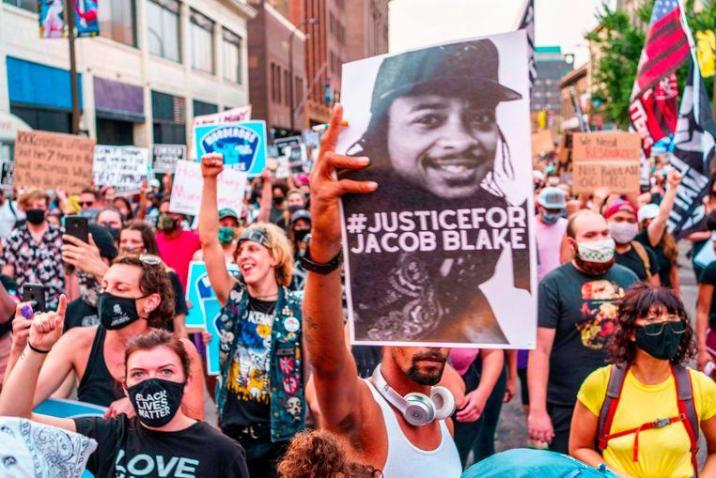 """Jacob Blake moved to Kenosha """"because it was safer there"""": Police shot him 7 times"""