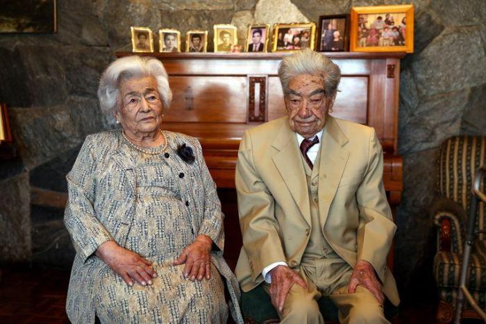 This is the oldest couple in the world: happily married for 79 years