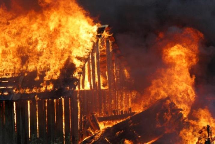 Villages were burned down