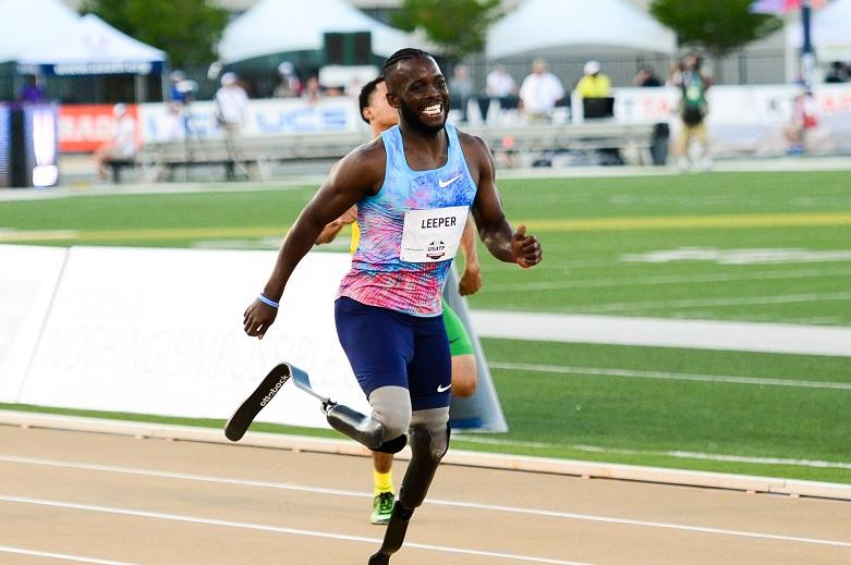 "Athlete without lower legs fights ""racist"" verdict: He will run faster"