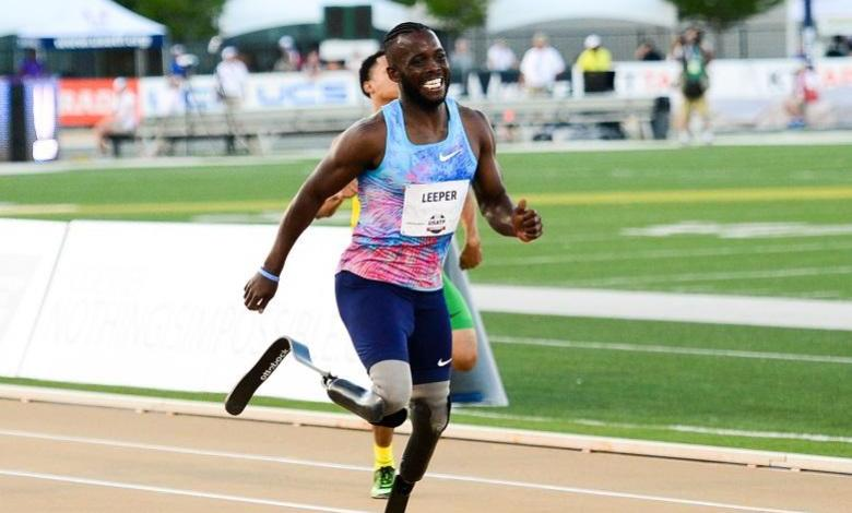 """Athlete without lower legs fights """"racist"""" verdict: He will run faster"""