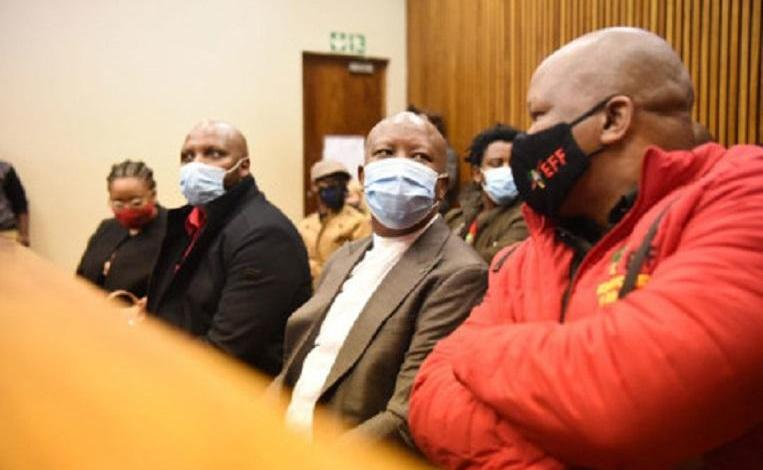 """Julius Malema: """"this white arrogance must end"""" in South Africa"""