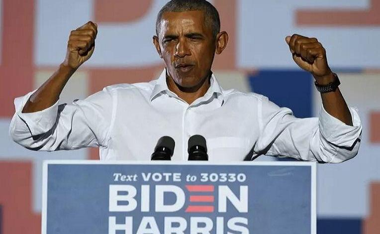 Former President Obama: Give Biden a chance and support him