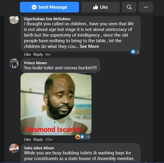 Nigerians roast Desmond Elliot on social media for praising Emmanuela
