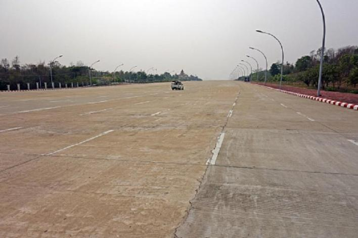 Naypyidaw, the planned capital of Myanmar