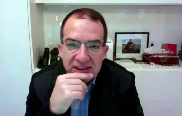 Stéphane Bancel, the Moderna's CEO