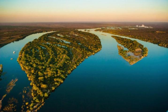 Famous Zambezi River (Zambia)
