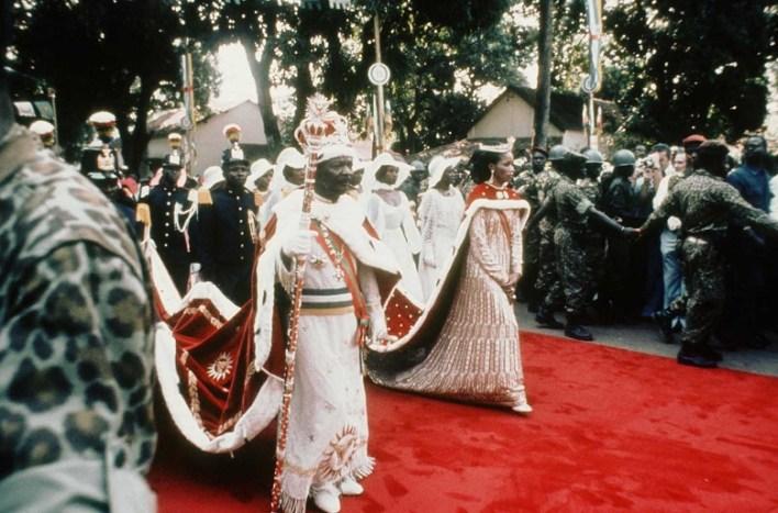 Coronation of Emperor Jean-Bédel Bokassa