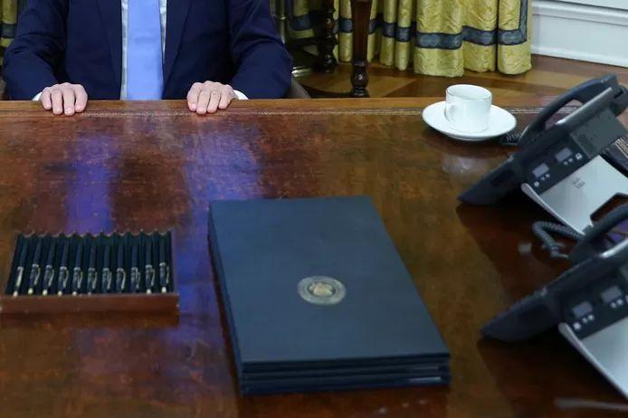 Why Joe Biden uses so many pens to sign decisions