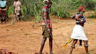 African tribe where women for sake of love ask men to whip them