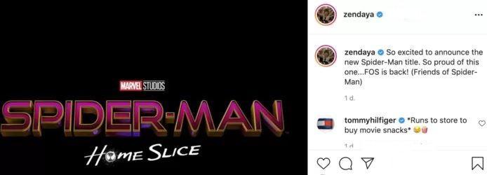 Confusion around Spider-Man.