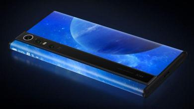 Xiaomi's phone with cascading screen: no button or charging port