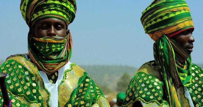 Hausa/fulani man