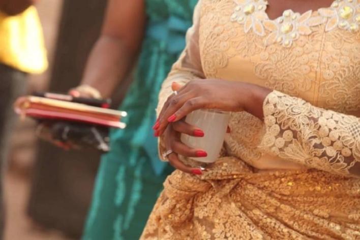 Western Africa marriage ritual
