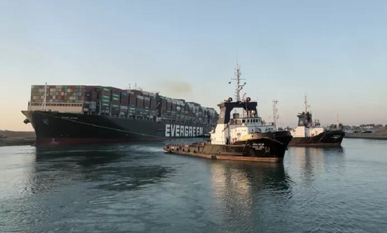 The container ship Ever Given, which blocked traffic in the Suez Canal last week, is completely free and sailing again.