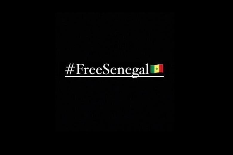 Hashtag #FreeSenegal topped after the situation worsened