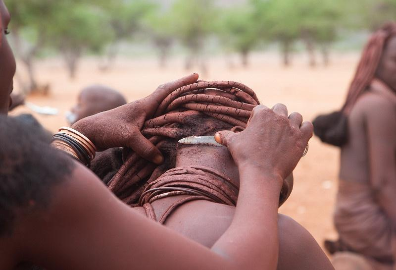 How do Africans wash in the driest region of the continent?