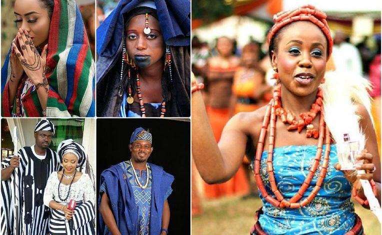 The Nigeria tribes and mode of their dressing