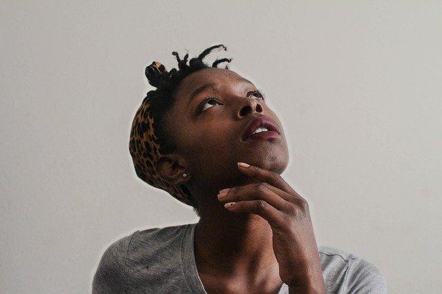 A black woman