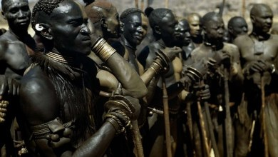Interesting facts: the Nuba tribe in Africa