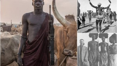 Dinka tribe – avid pastoralists with giant herds