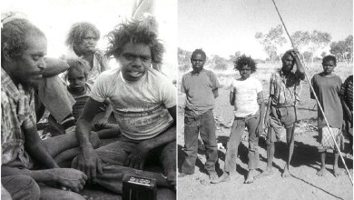 The Pintupi Nine or the Lost Tribe: mysterious people of Australia