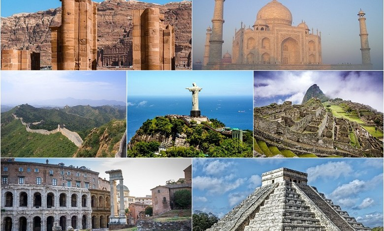 The best amazing new seven wonders of the world