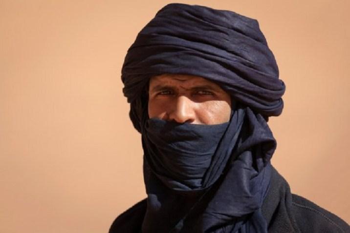 Blue men of tuareg