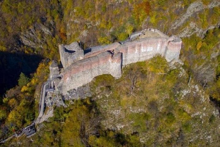 Poenari Castle, Wallachia, Romania