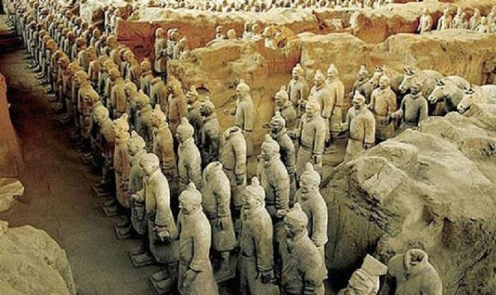 Tomb of the first emperor, China