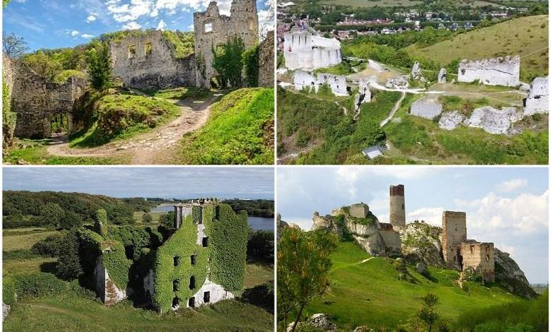 Top 5 European magnificent medieval castles that fell into ruins