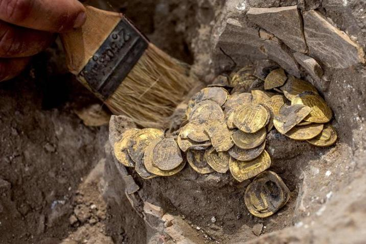 Israel's mysterious treasures: A history of ancient gold coins