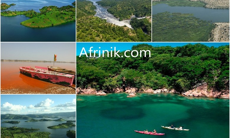 Pictures of the 10 famous lakes in Africa