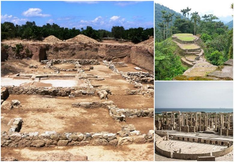 Remnants of cities from history thought to be fictitious