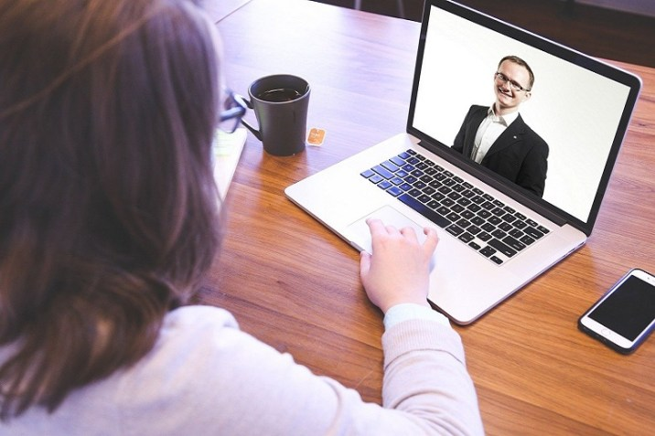 How do you prepare an online interview?