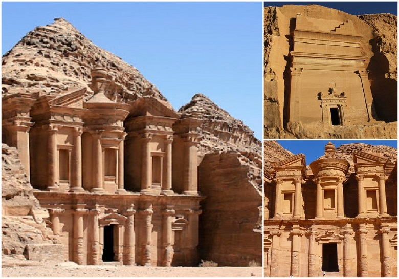 Ancient civilization of Nabataeans secretly kept in a lonely castle