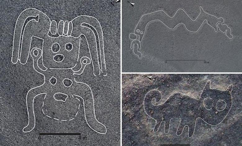 How were the Nazca lines made? Figures of the Palp Plateau