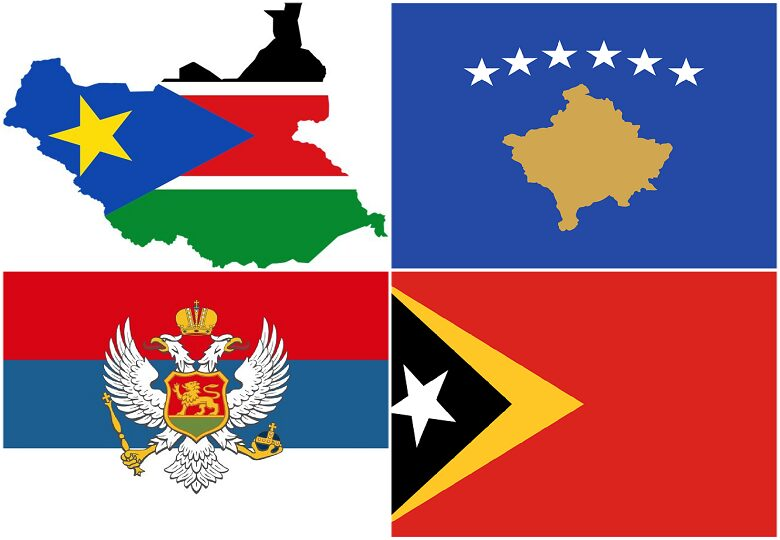 Top 5 youngest countries in the world
