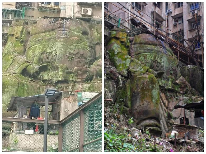 How 1,000-year-old giant headless Buddha ended up in an apartment