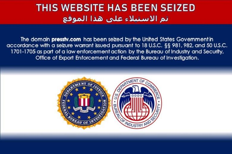 Accuse of 'disinformation': US shuts down Iranian news sites