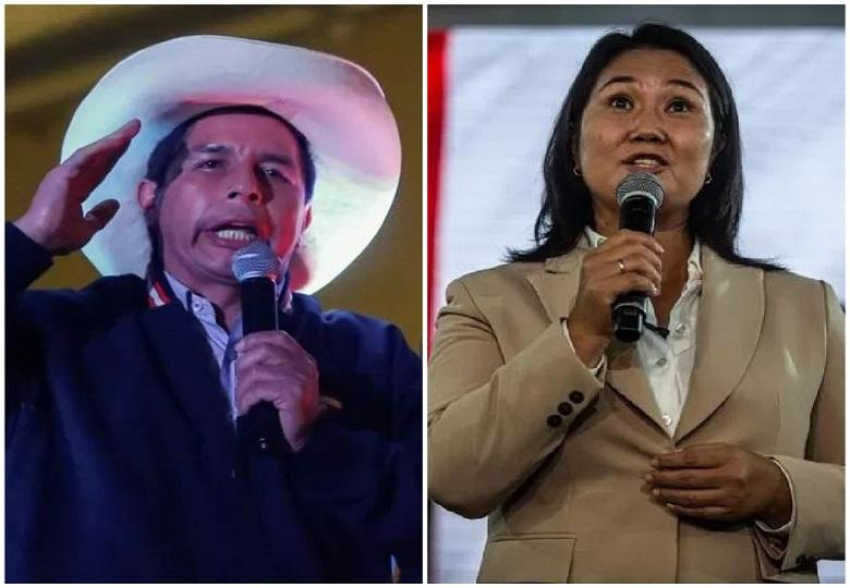 Five days after Peru's presidential election, there is still no winner. So Peru's interim president called for calm while observers contradict alleged fraud.